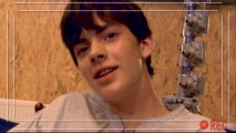 "Skandar Keynes has his Blonde Cam turned around on him in ""Skandar Keynes: Blonde Cam."""