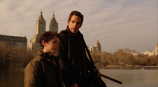 "A father (Ben Stiller)/son (Jake Cherry) relationship is behind all that unfolds in ""Night at the Museum."""