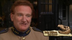 "An unstached Robin Williams speaks in ""The Making of 'Night at the Museum'."""