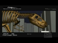 "Jurassic Park! The iconic image of a skeletal T-rex at the water fountain (seen here in early computer animation) is part of what's explored in ""Making a Scene."""