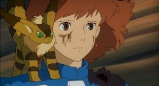 Resolved and determined, Teto and Nausicaä stand to meet their fate.