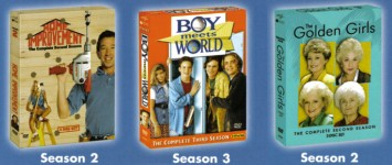 Preliminary artwork for new TV on DVD season sets coming Spring 2005!
