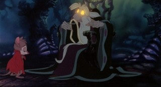 Nicodemus tells Mrs. Brisby the story of the rats of NIMH.