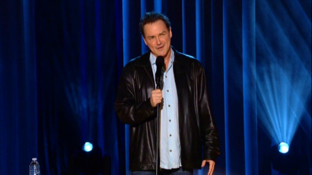 "Most of ""Me Doing Standup"" frames Norm Macdonald in medium shots."