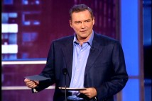Norm Macdonald remains poker-faced while delivering his hilariously unorthodox set of jokes at the Comedy Central Roast of Bob Saget.
