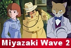 Nausica�, Porco Rosso, The Cat Returns: Miyazaki Wave 2 DVDs Press Release