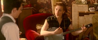 The world can thank John Lennon's absentee mother Julia (Anne-Marie Duff) for turning her son onto playing music with banjo lessons.