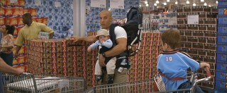 Baby in hand, shopping at Costco....where have I seen this before?
