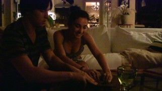 Ali (Molly Ephraim), the Reys' teenage daughter, and her boyfriend Brad (Seth Ginsberg) ensure the Ouija board retains a role in the series by taping their play.
