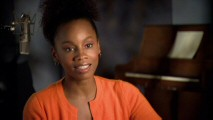 "Actress Anika Noni Rose shares her thoughts and perspective on the character of Tiana, ""Disney's Newest Princess."""