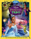 The Princess and the Frog: Blu-ray/DVD/Digital Copy combo cover art