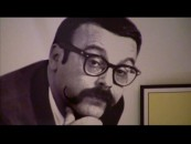 "Vince Guaraldi, the more musically inclined of the two handlebar-mustachioed men behind the Peanuts cartoons, is the subject of the documentary ""The Maestro of Menlo Park"", which shows him here in an old black & white photo."