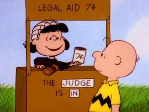 "Lucy changes her services and price as the situation calls for it in ""It's a Mystery, Charlie Brown."""