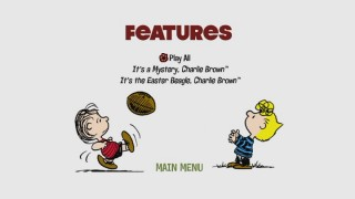 Linus tries kicking a football to Sally, something they don't do on this DVD on the slight features menu of the unnecessary second disc.