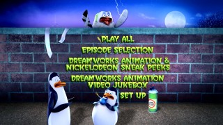 Enjoy the DVD main menu for I Was a Zombie Penguin at your own pace here, because the DVD quickly bounces you to a Play All playback.