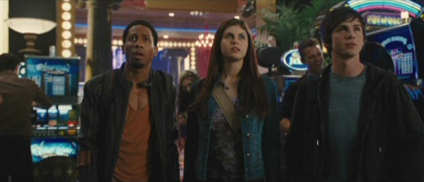 Percy Jackson The Olympians The Lightning Thief Dvd Review