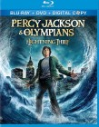 Percy Jackson & The Olympians: The Lightning Thief Blu-ray + DVD + Digital Copy combo cover art