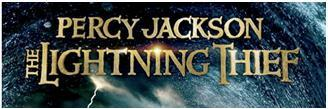 Percy Jackson (& The Olympians): The Lightning Thief title logo