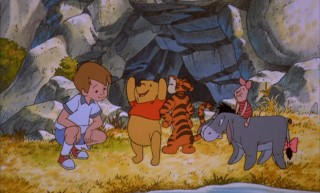Yay! We found Christopher Robin! Yay!