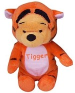 This six-inch Beanz plush doll of Winnie the Pooh dressed up as Tigger is the only thing the Pooh's Heffalump Halloween Limited Edition Gift Set adds to the 4-year-old DVD.