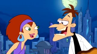 Doofenshmirtz finds love, briefly, on a Chez Platypus date with a woman who appreciates evil and lab coats.