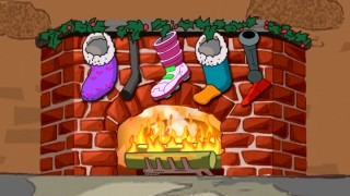 Who needs the WPIX Yule Log when you've got Phineas and Ferb's Virtual Fireplace on this DVD?