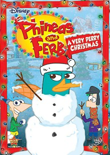 Phineas and Ferb: A Very Perry Christmas DVD cover art - click to buy from Amazon.com