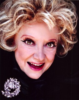 Legendary entertainer Phyllis Diller appears in a recent headshot. (Photo by Gor Megaera)