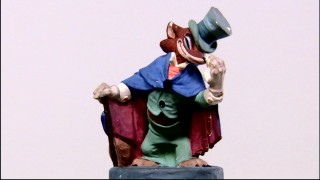 "Honest John Worthington Foulfellow gives us two turnarounds in this art gallery video. ""Pinocchio"" was the first Disney film for which animators built maquettes of characters."