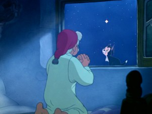 When you wish upon a star... (as Geppetto does from his bedroom window)