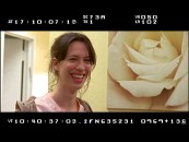 British actress Rebecca Hall is among those cracking up in the Outtakes reel.