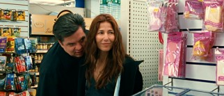 Alex (Oliver Platt) and Kate (Catherine Keener) get a kick out of spotting their unaccompanied daughter in a cosmetics aisle.