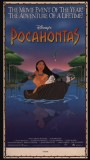 "A newspaper ad for ""Pocahontas"", from the Publicity Gallery."
