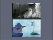Storyboard-to-Film Comparison. Gee, the bottom looks like the top!