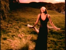 "Vanessa Williams ponders things like how high does the sycamore grow in the ""Colors of the Wind"" music video."