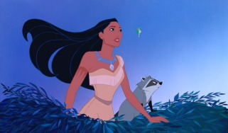 Pocahontas is a strong heroine in the Disney mold: free-spirited, princess-like, and with cute animal companions.