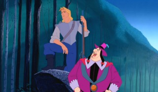 "John Smith and the pompous Governor Ratcliffe don't exactly see eye-to-eye on how to act towards ""savages."""