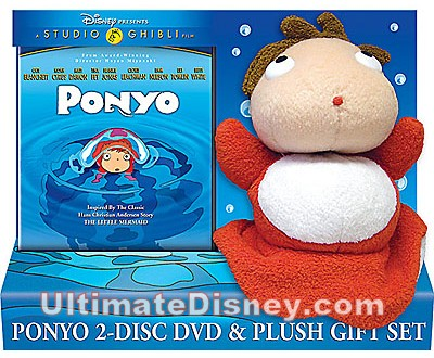 Ponyo: 2-Disc DVD and Plush Gift Set
