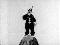 This often rotoscoped clown (eventually named Koko) interacts with animator Max Fleischer as the star of 9 shorts on Discs 3 and 4.