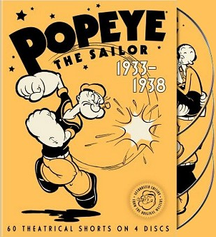 Buy Popeye the Sailor: Volume One DVD from Amazon.com