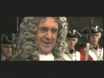 Jonathan Pryce laughs it up in the Blooper Reel.