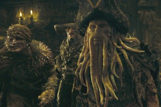 Davy Jones is back and he's not Monkee-ing around! Bill Nighy plays the octopus-like captain of the underworld with extreme visual effects.