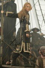 "Keira Knightley is Elizabeth Swann, who becomes a captain and a pirate king in ""At World's End."""