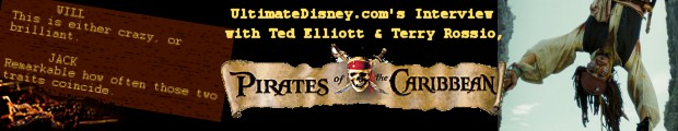 An Interview with Ted Elliott and Terry Rossio, writers of Pirates of the Caribbean