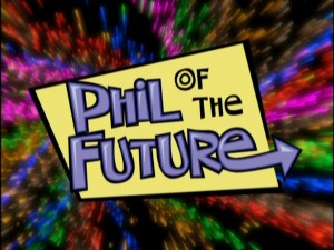 "The ""Phil of the Future"" title graphic."