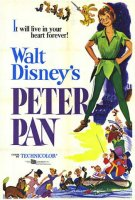 Disney's Peter Pan (1953) movie poster
