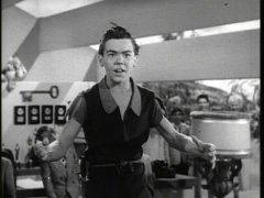 Bobby Driscoll, the voice of Peter Pan