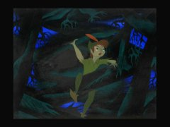 Concept artwork of Peter Pan