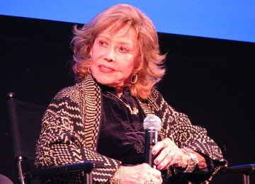 "June Foray, who has been doing animated voice work for well over half-a-century, was the vocalist and live action model for the mermaids of ""Peter Pan."""