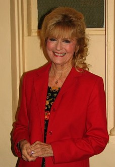 Kathryn Beaumont smiles for a picture. The 68-year-old Beaumont voiced Alice (of Wonderland fame) and Wendy Darling, two of Disney's most enduring animated heroines.